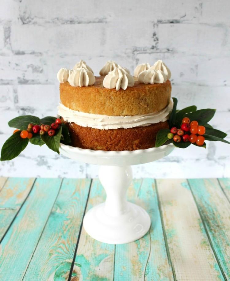 Double Decker Apple Cake
