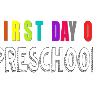 First Day of School-v2-Pre-K