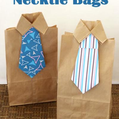 NeckTie Gift Bag