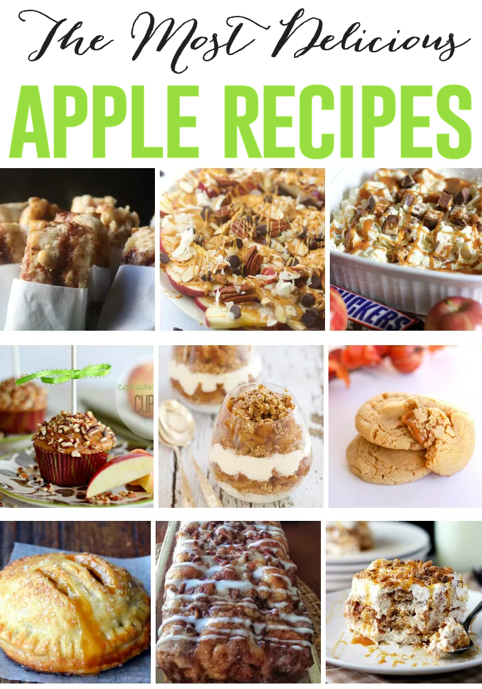 The most delicious apple recipes the girl creative for The most delicious recipes