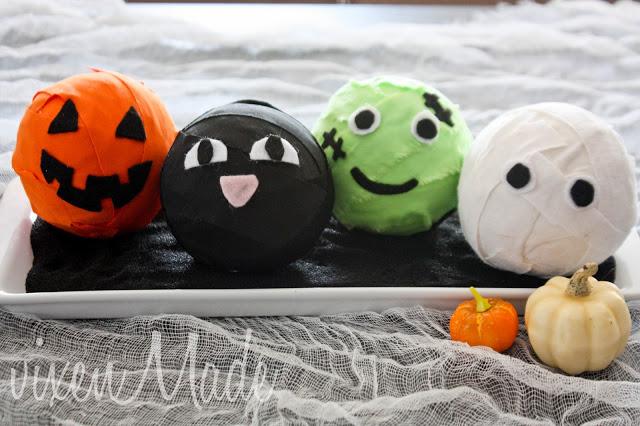 Halloween Crafts-character balls