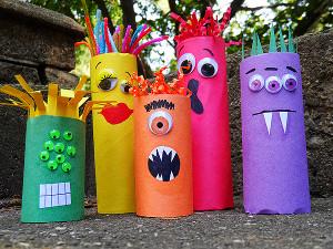 Halloween Crafts-goofy-ghouls