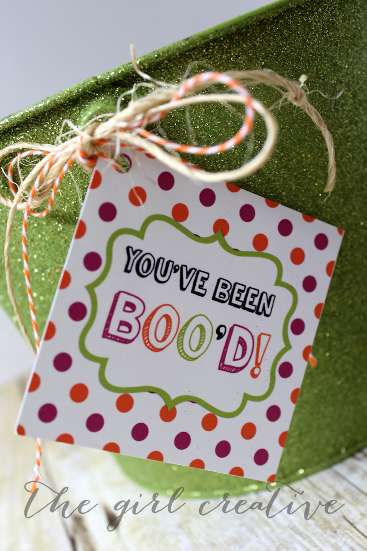 """You've Been Boo'd free printable set. Spread some joy and have some fun this Halloween by secretly """"booing"""" your friends and neighbors."""
