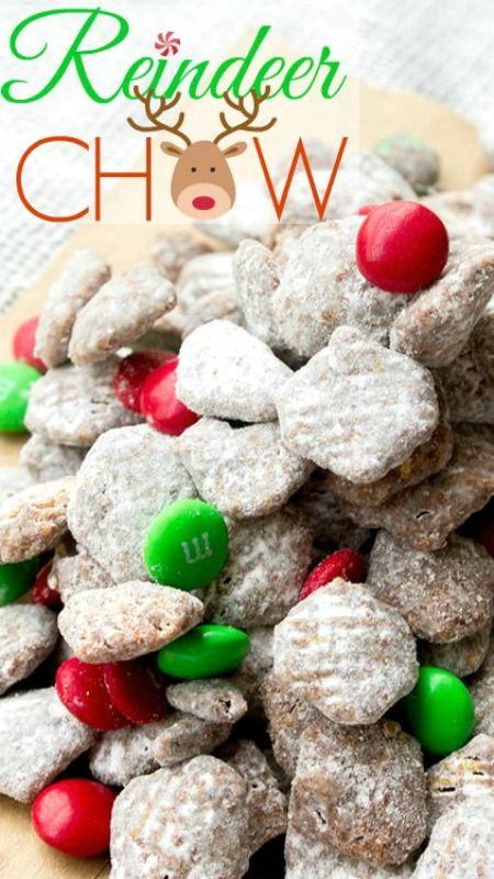 Christmascookies-reindeer chow