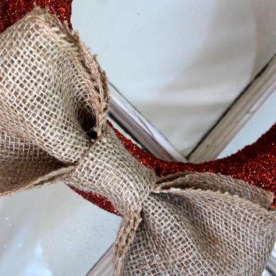 DIY Glitter Wreath