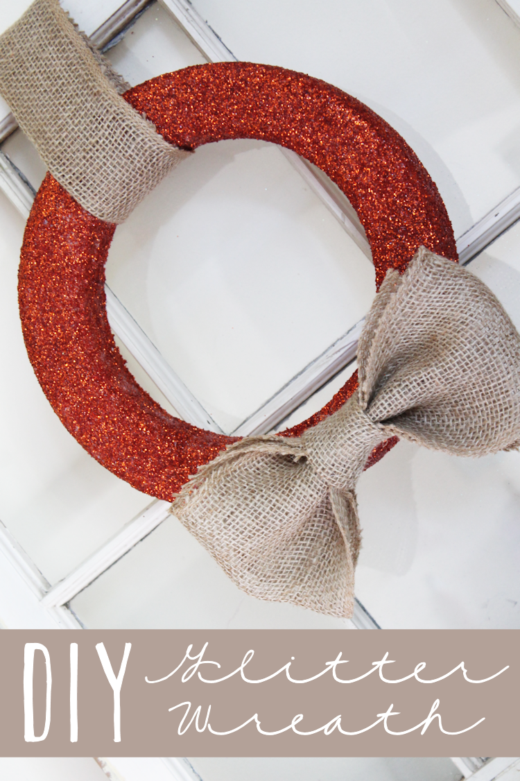 Glitter Wreath-lead