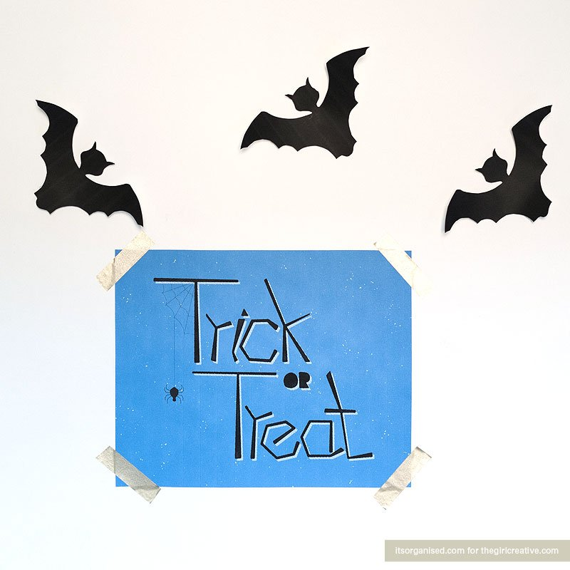 halloween wall art printable