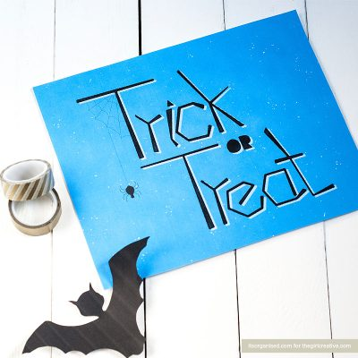 Hand-lettered Halloween Wall Art Printable