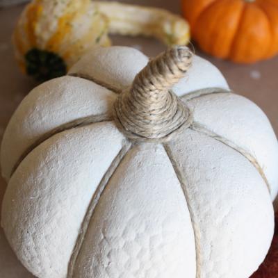 $1 Pumpkin Makeover + 75 Fall Inspirations
