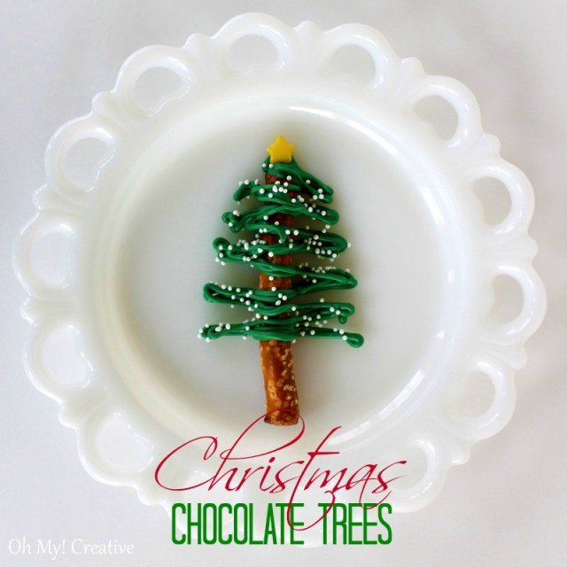 christmascookies-Chocolate-pretzel-Christmas-Trees-1-burst-e1355107045435