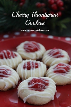 christmascookies-cherry-thumbprint-cookies