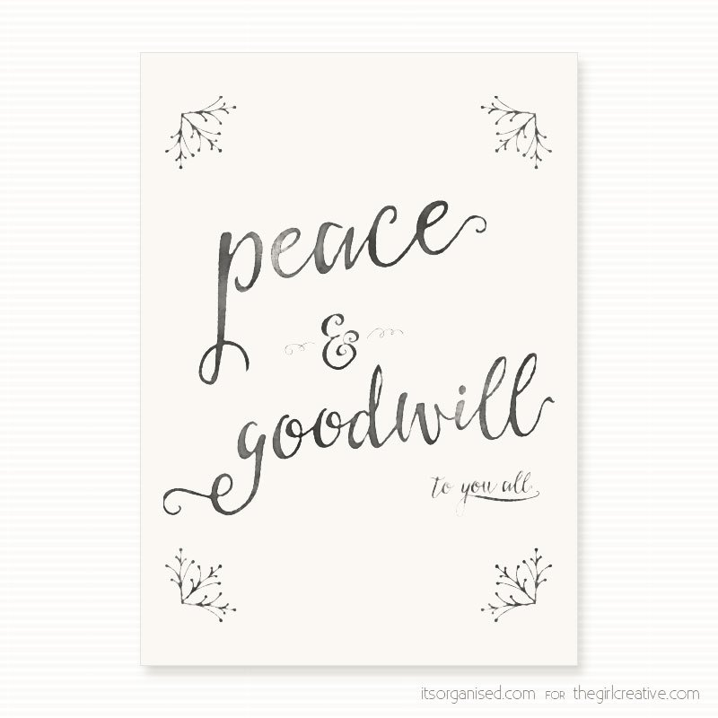 Printable Holiday Quote