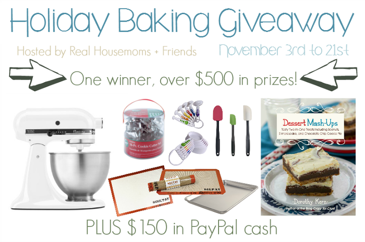 Holiday Baking Giveaway-horizontal