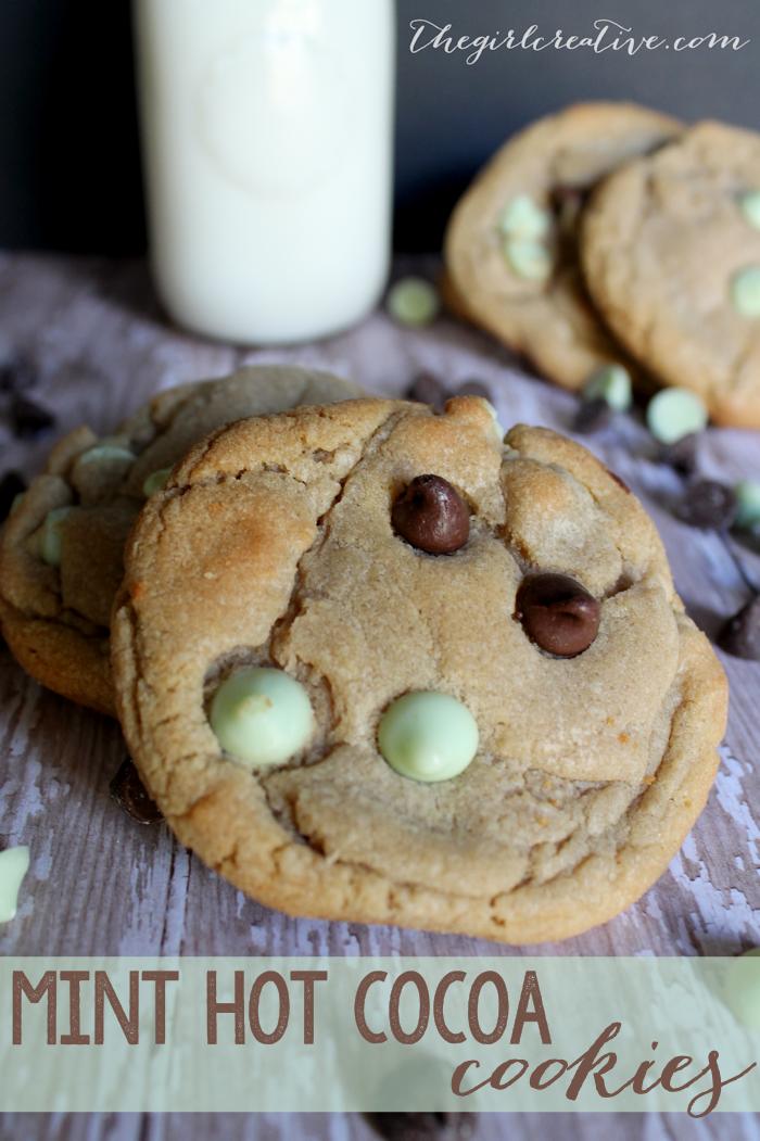 Mint Hot Cocoa Cookies-hero