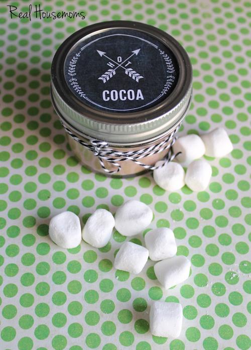 Hot Cocoa Labels-Content