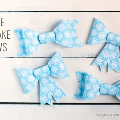 Printable Holiday Gift Bows