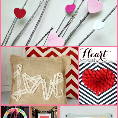{Inspiring Ideas} 14 Valentine Crafts