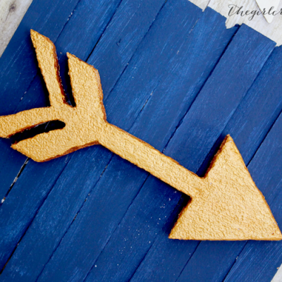 Foam Arrow Wall Art