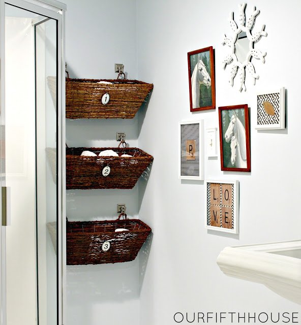 Basket Organization-Our Fifth House