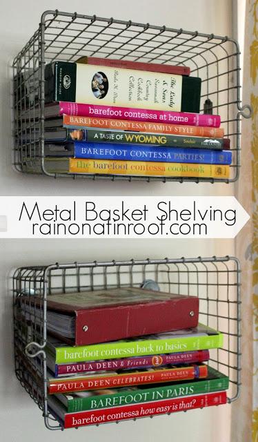 Basket Organization-Rain on a Tin Roof