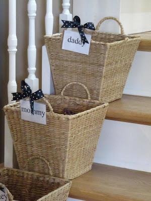 Basket Organization-Sew Many Ways