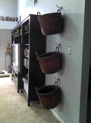 Basket Organization-This Lil House