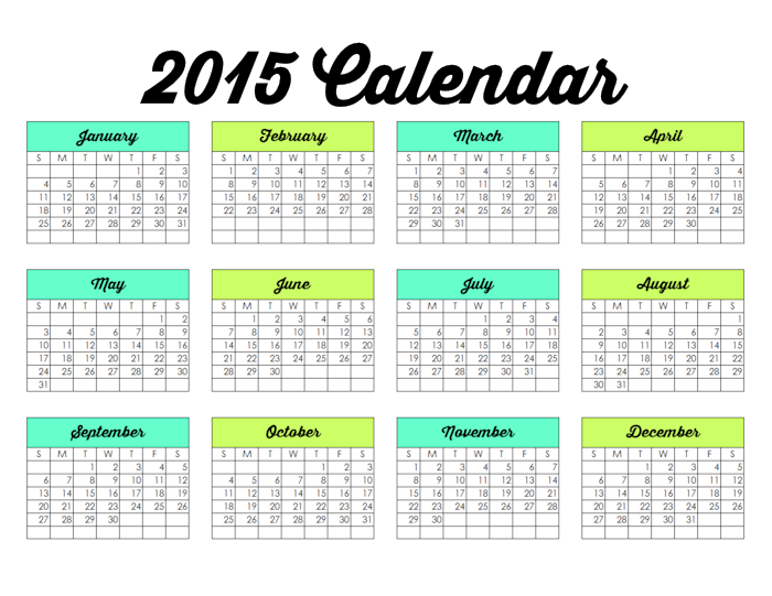 Family Binder-2015 Calendar-blog