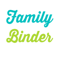 Family Binder Printables