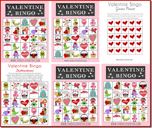 image relating to Valentine Bingo Free Printable known as No cost Printable Valentines Working day Game Sheet - The Female