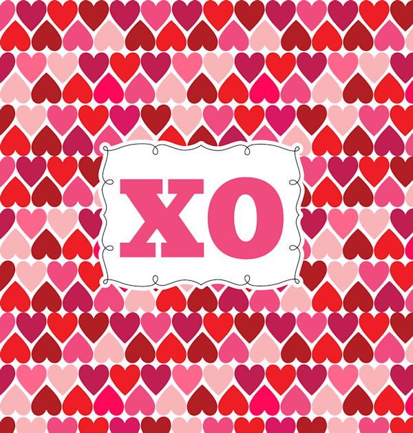 Valentine's Day Candy Bar Wrapper-XO-small