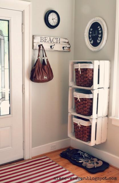 basket organization-my pink life