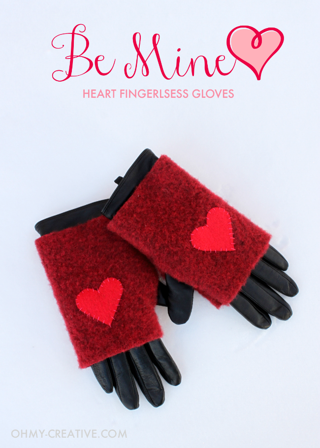 valentine crafts-Be-Mine-Heart-Fingerless-Gloves