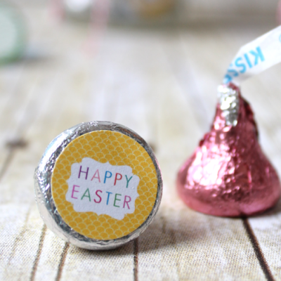 Easter Hershey Kiss Labels + 13 FREE Easter Printables
