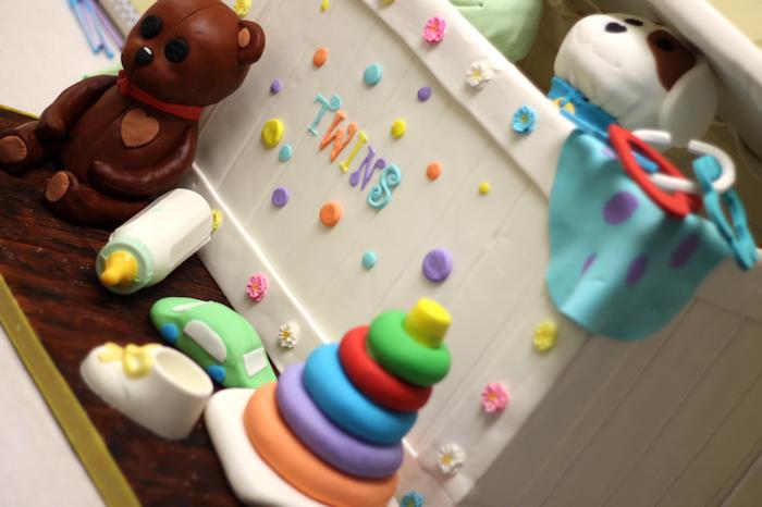 High Quality Gender Neutral Baby Shower Cake