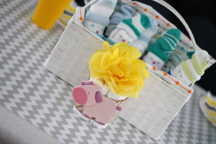 Gender Neutral Baby Shower-Centerpieces