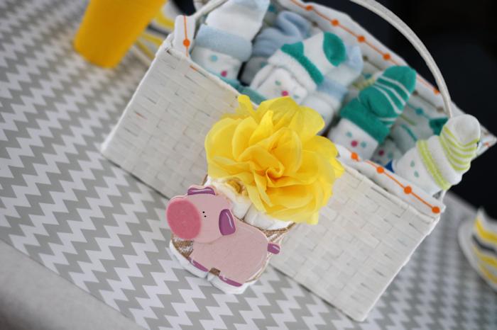 Gender Neutral Baby Shower-Centerpieces