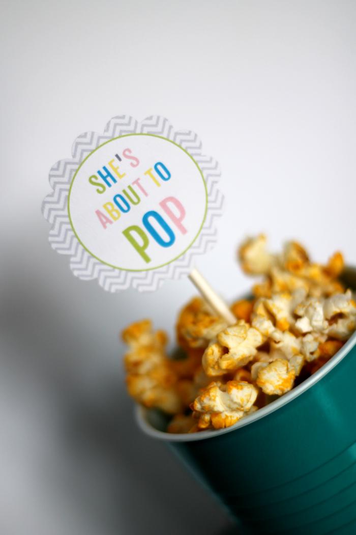 Gender Neutral Baby Shower-Popcorn