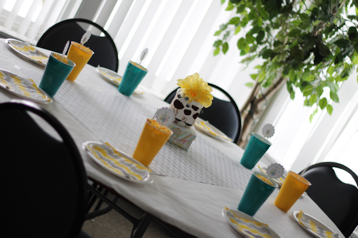 Gender Neutral Baby Shower-Table