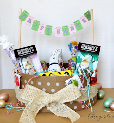 diy Family Easter Basket