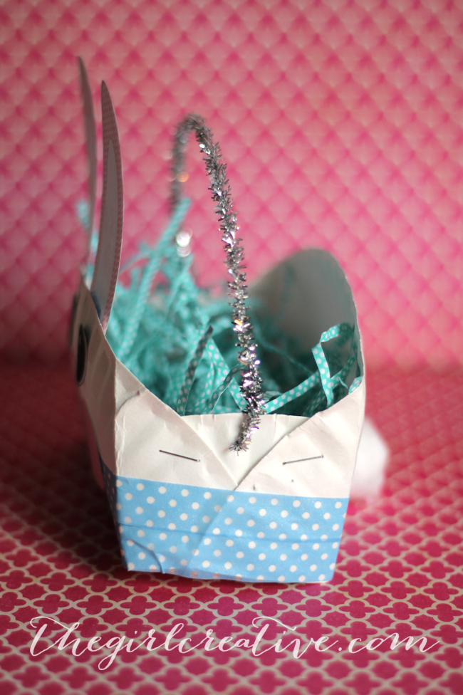 Easter Bunny Basket-side