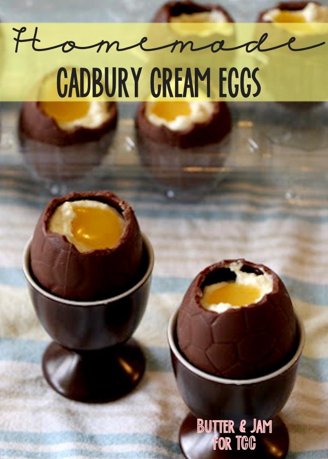 Homemade Cadbury Cream Eggs | Easter Treats Recipe