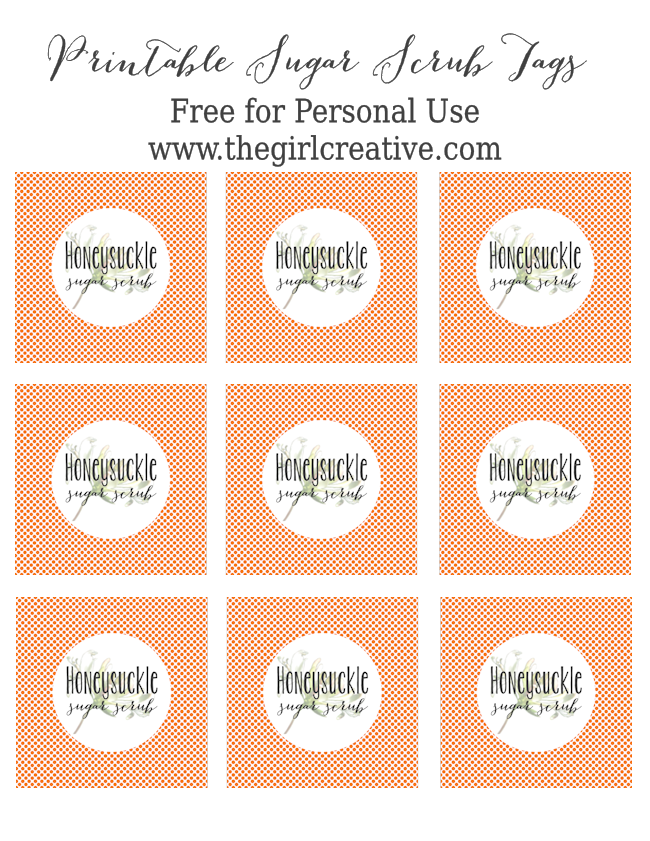 Honeysuckle Sugar Scrub Tags-blog size