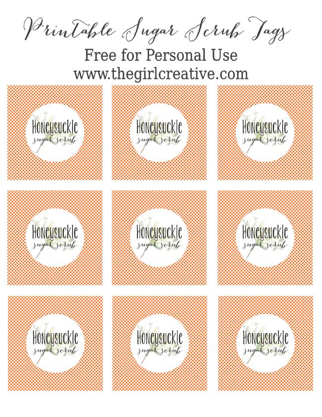 Honeysuckle Sugar Scrub Tags-blog size