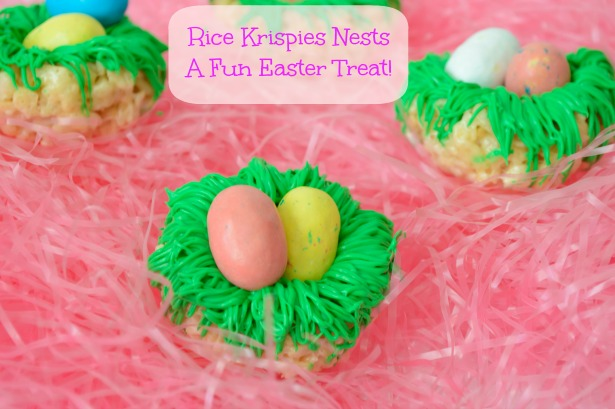Rice Krispie Birds Nest