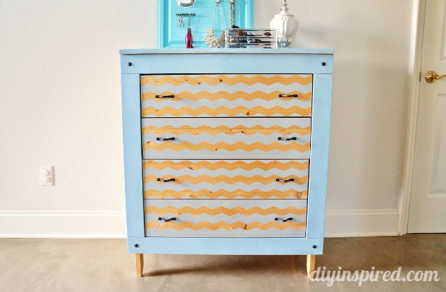 Spray-Painted-Dresser-Makeover