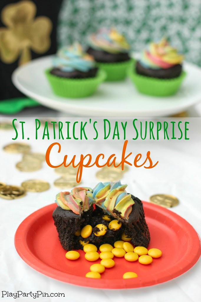 Surprise Cupcakes - play party pin