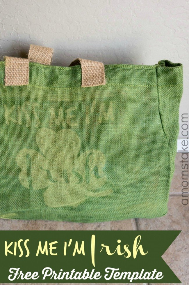 a mom's take -kiss me i'm irish