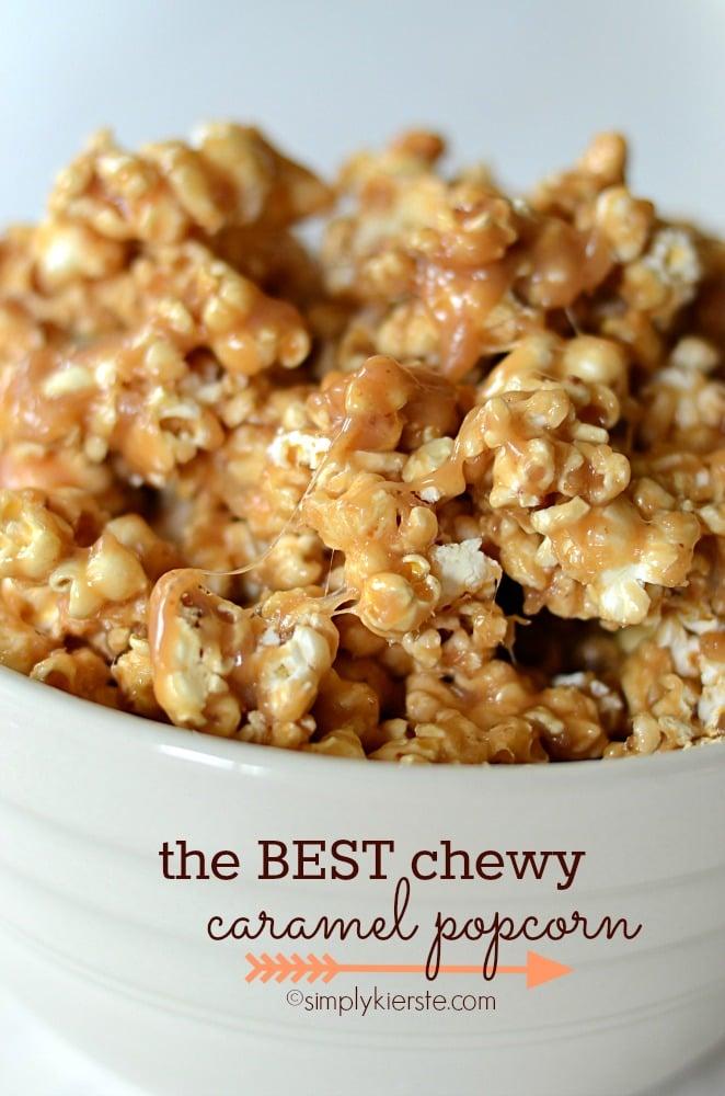 best chewy caramel popcorn