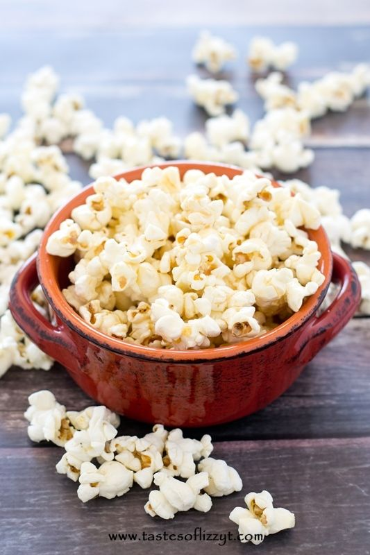 honey scotch popcorn-taste of lizzy t
