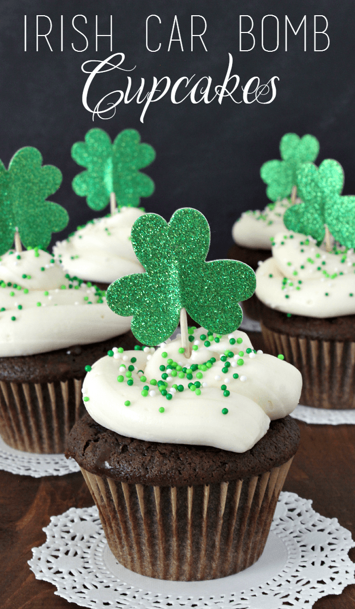 irish car bomb cupcakes - growing up gabel